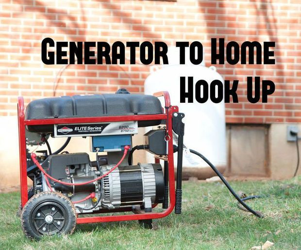 Easy Generator to Home Hook Up Emergency power