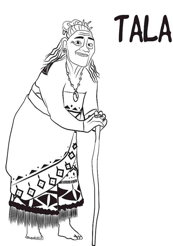 Ausmalbilder Vaiana Tala Ausmalbilder Zum Ausdrucken Ausmalbilder Ausmalen