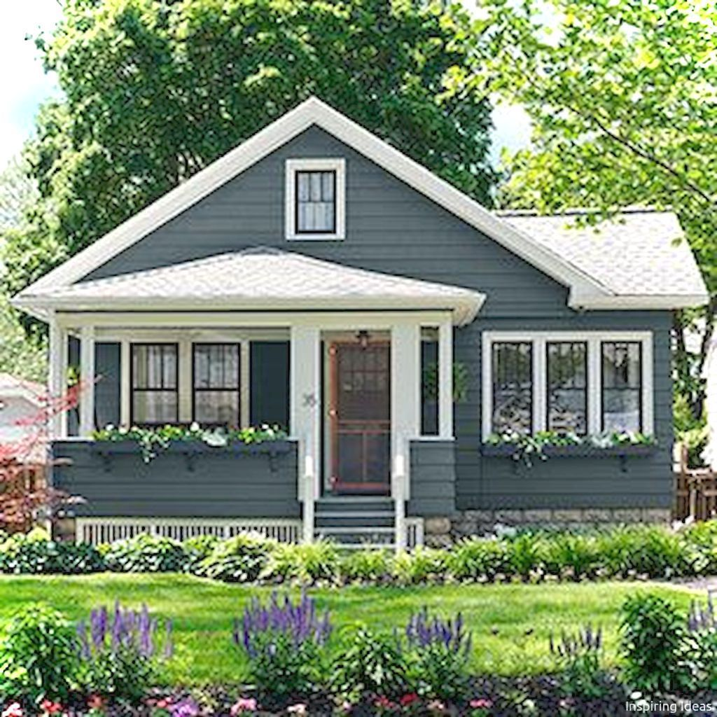 Small House Exterior Ideas: Charming 13 Small Cottage House Exterior Ideas