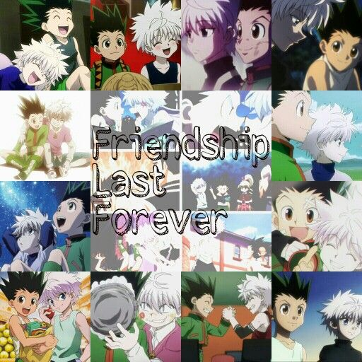 Gon and Killua's Friendship♡