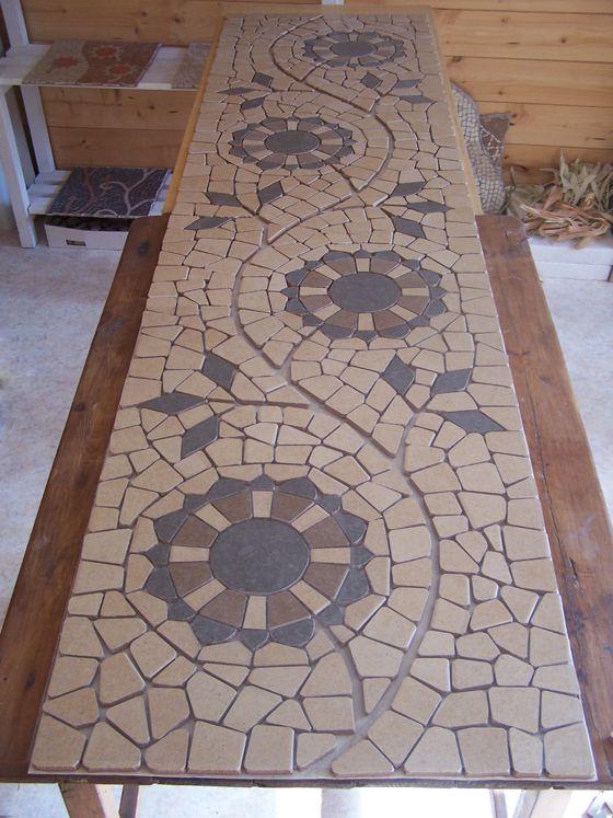 Mozaiek Gemozaiekt Mosaicos Azulejos De Mosaico