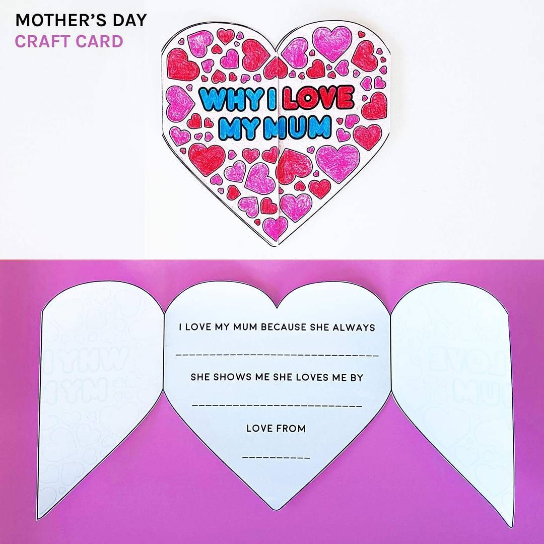 Mother S Day Coffee Card Template Coffee Cards Card Template One Card Reading