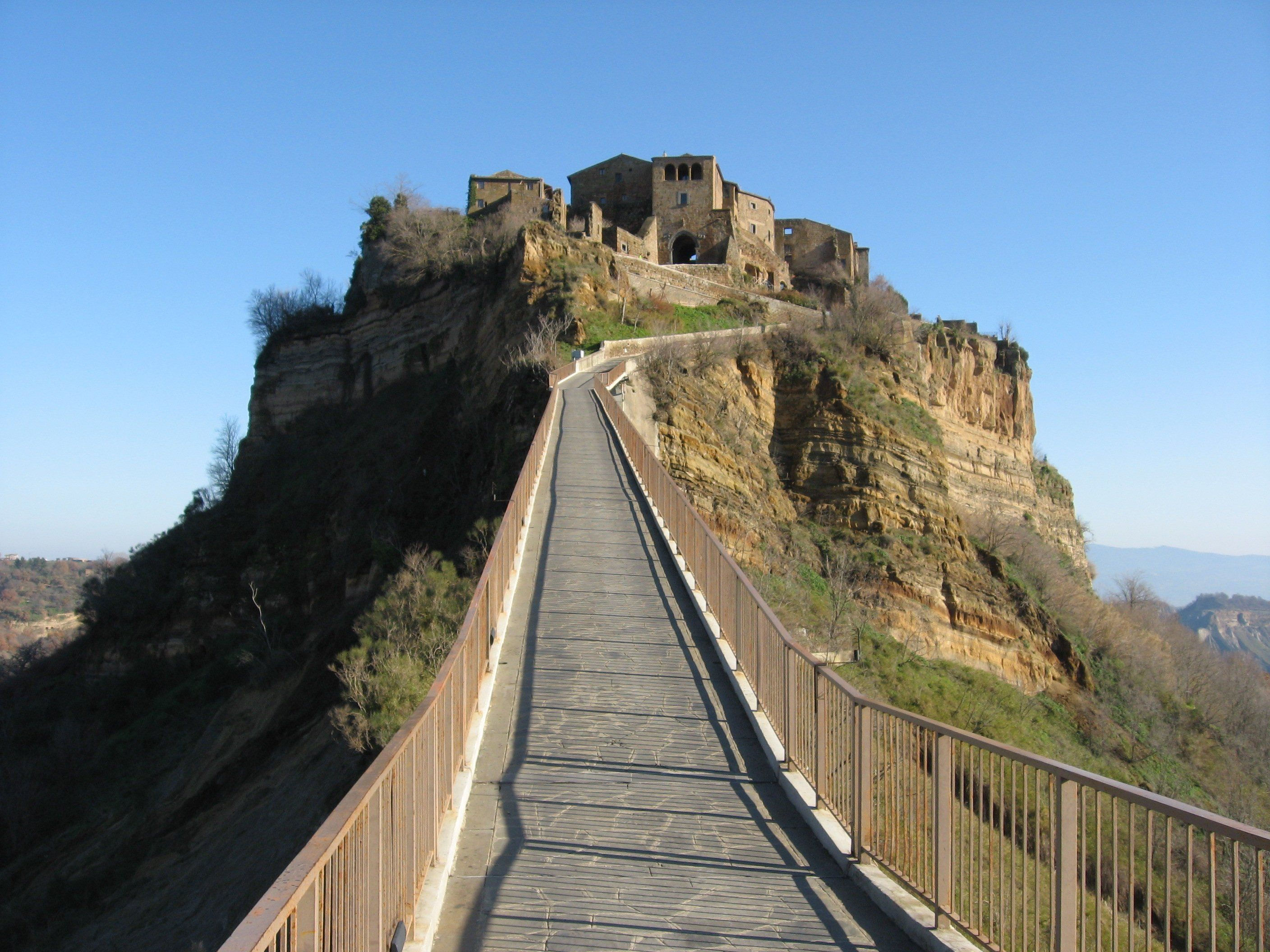 Bilder Des Tages Civita Di Bagnoregio Italy Monument Valley