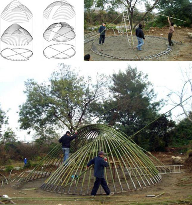 Building a DIY Bamboo Dome