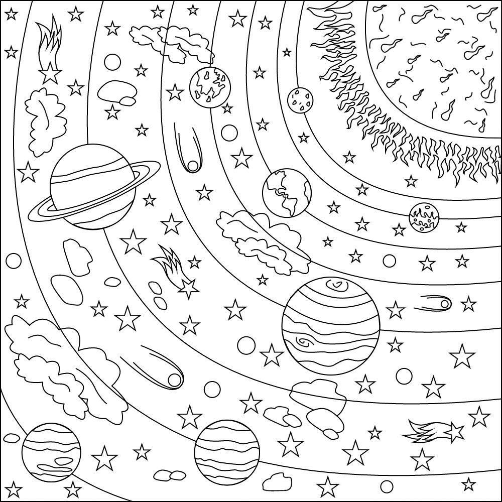 Awesome Coloring Page Quantum Mechanics That You Must Know You Re