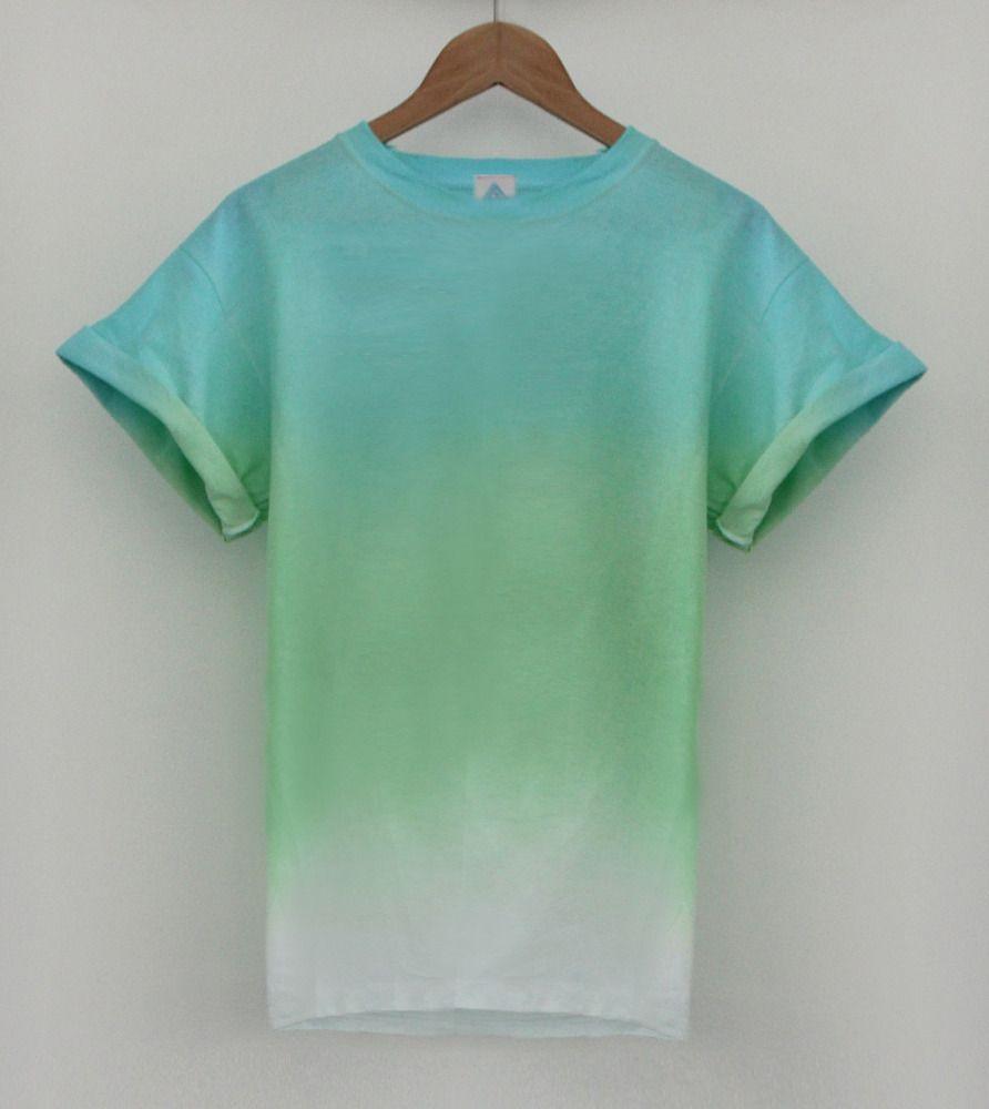 Andclothing Ocean Dip Dye Tee Dipdye Tie Dye Outfits Tie Dye T Shirts Shirt Designs [ 1000 x 892 Pixel ]