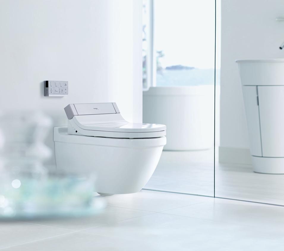 I Nuovi Sanitari Tra Innovazione E Personalizzazione Duravit Toilet Beautiful Bathrooms