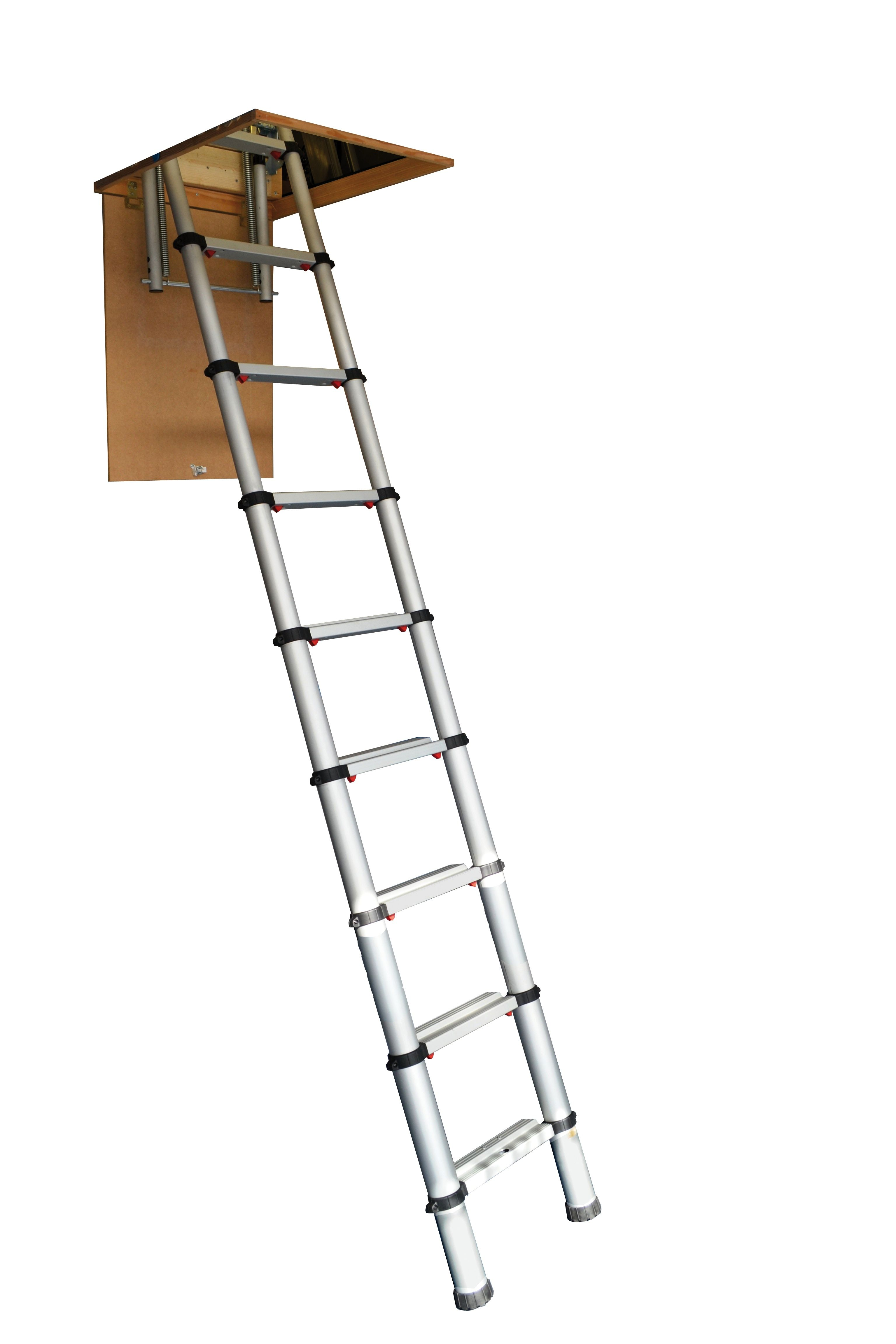 The Youngman Telescopic Loft Ladder Our New Telescopic Ladder Is Probably The Smartest And Most Compact Solution To A Ver Loft Ladder Ladder Telescopic Ladder