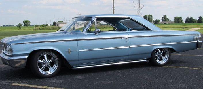 I Always Loved This Color On The 63 1 2 Galaxie Ford Galaxie