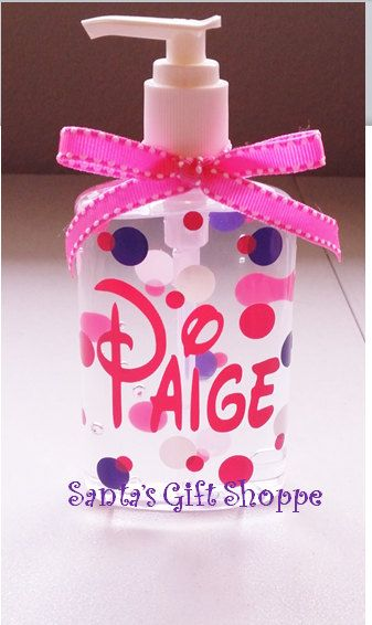Personalized Hand Sanitizer Teacher Gift By Santasgiftshoppe