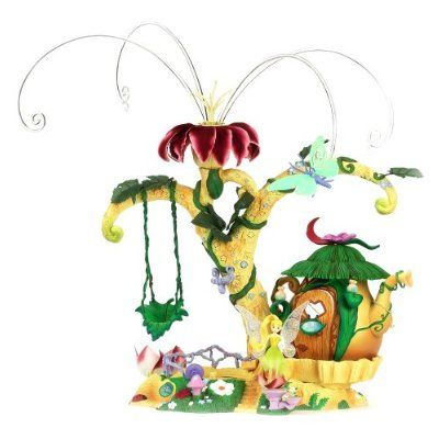 Tinkerbell Micro Playset | Amazon.com: Pixie Hollow Home Tree Playset: Toys & Games