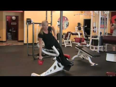 Roman Chair Workout Instructions Chair Exercises