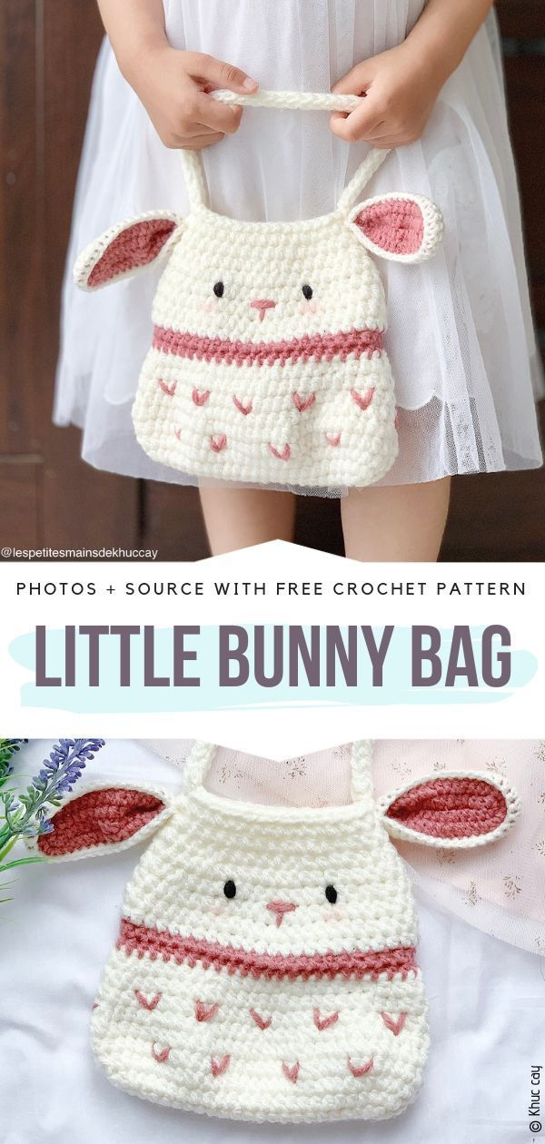 Sweet Crochet Bunny Ideas Free Patterns #tejidos