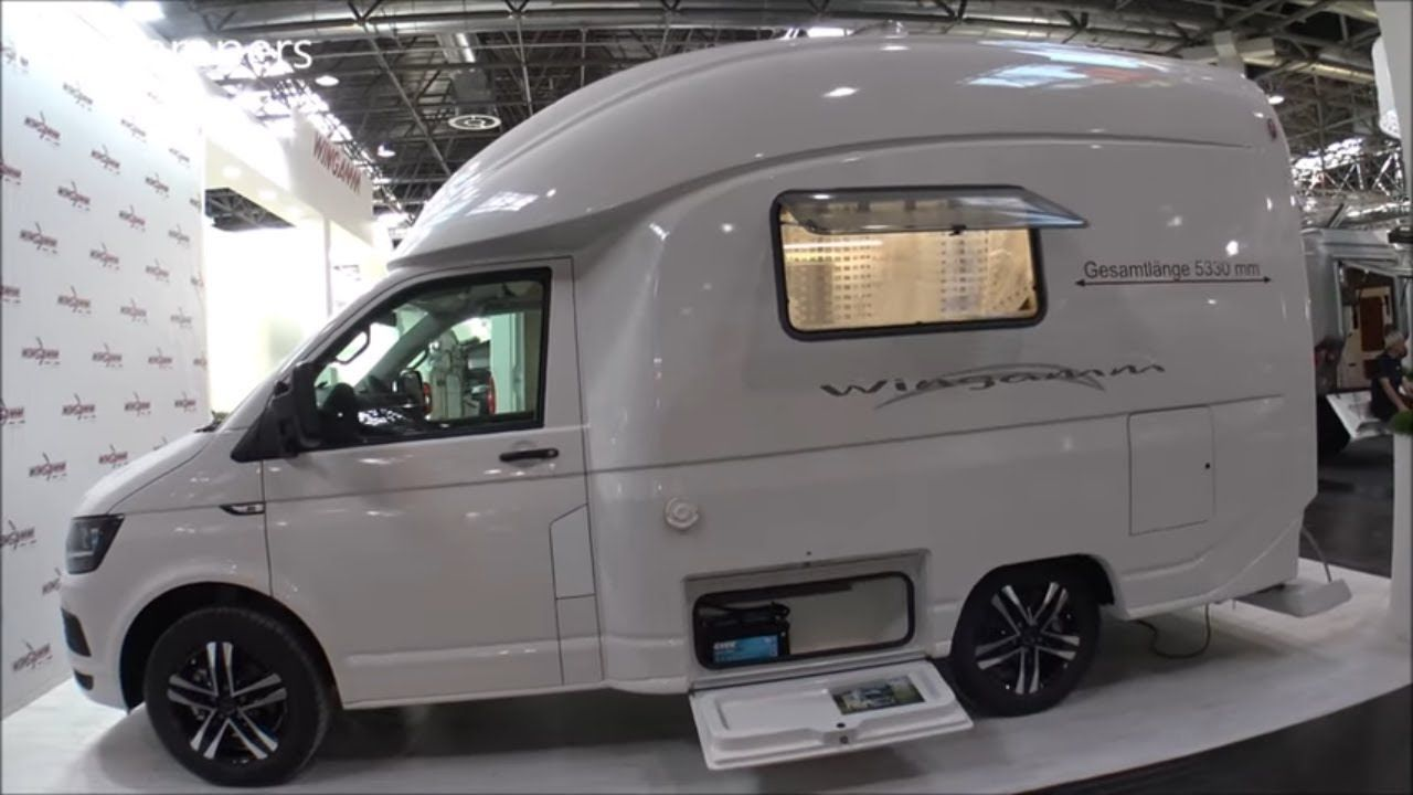 Small Camper Wingamm Micros Vw T6 150hp Camper 2020 In 2021 Small Campers Volkswagen Camper Small Motorhomes