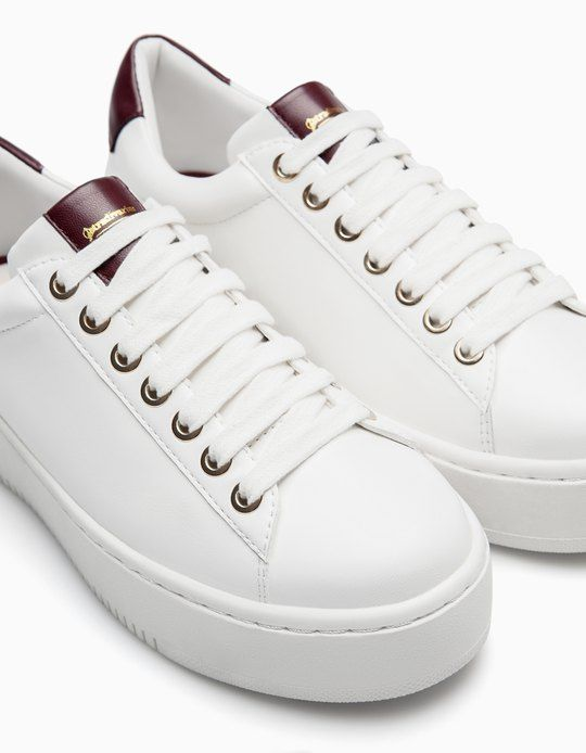 At Stradivarius you'll find 1 Platform sneakers for woman for just 29.95 €…