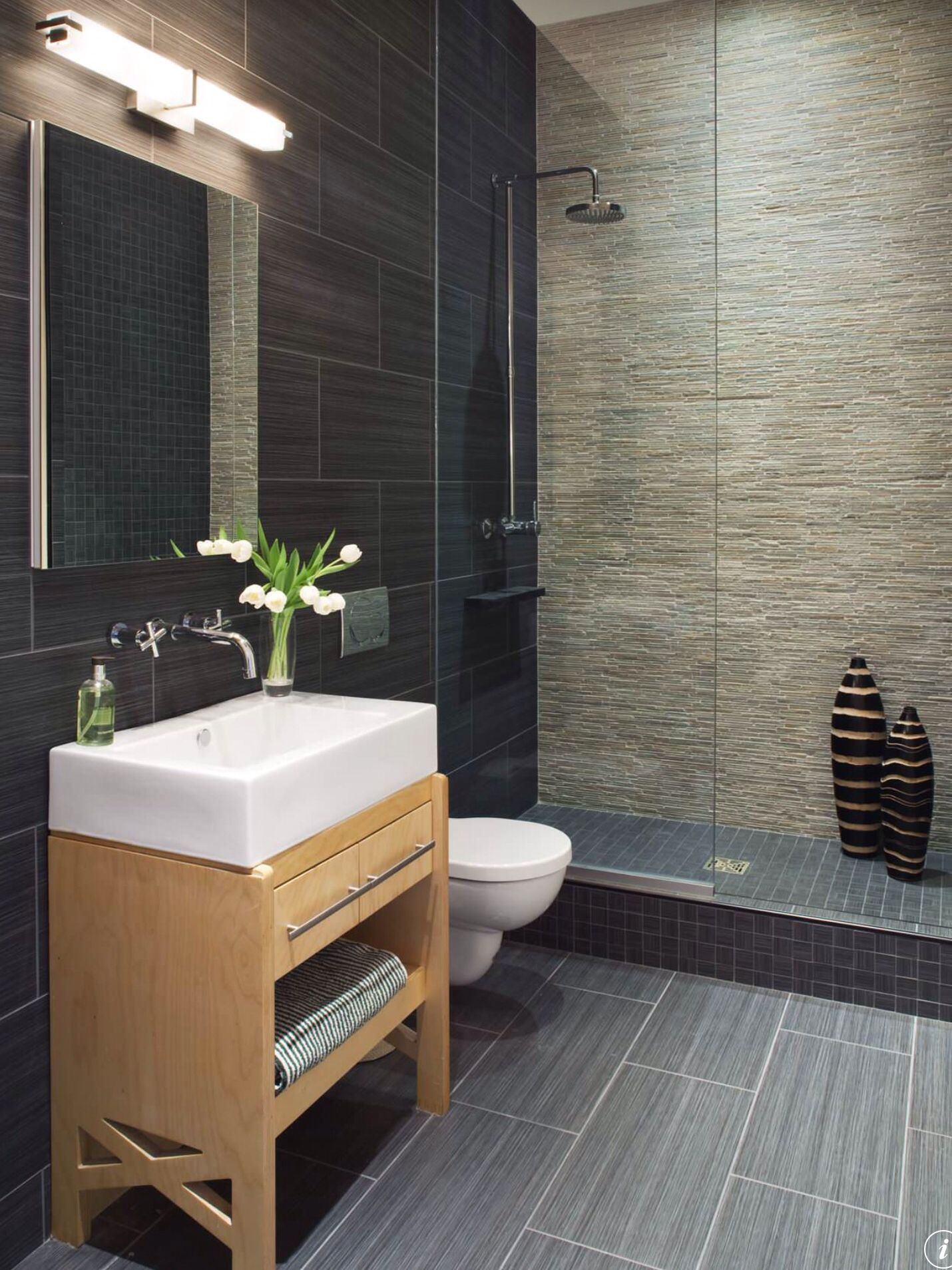 simple modern design of bathroom | Small bathroom remodel, Bathroom design small, Contemporary bathroom designs
