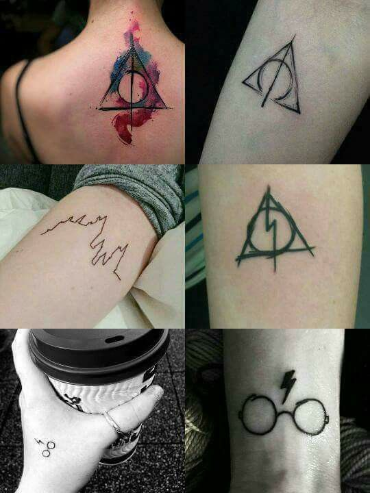 50 Insanely Crazy Harry Potter Tattoos That Are Truly Inspiring Harry Potter Tattoos Fandom Tattoos Small Tattoos
