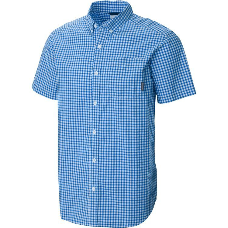 a068a6a2f94 Columbia Men's Big & Tall Rapid Rivers II Short Sleeve Button Down Shirt,  Size: Medium, Blue
