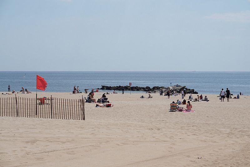 Coney Island Summer Beach Day