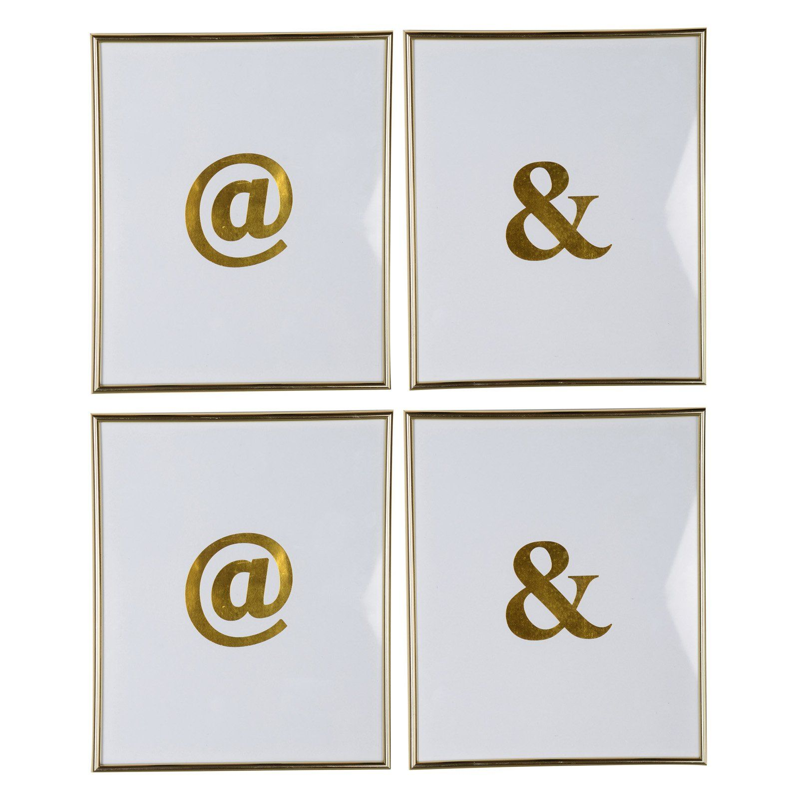 A and b home large symbol wall art set of kih products