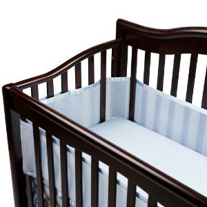 Breathable Baby Universal Crib Bumper Blue Green White Or Yellow 24 Crib Liners Breathablebaby Cribs