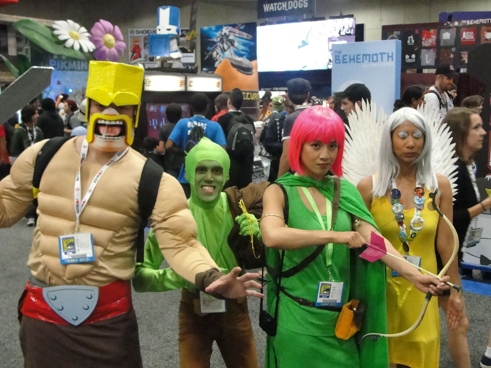 Clash Of Clans | HCG Recipes 4 P2 | Pinterest | Costumes, Cosplay ...