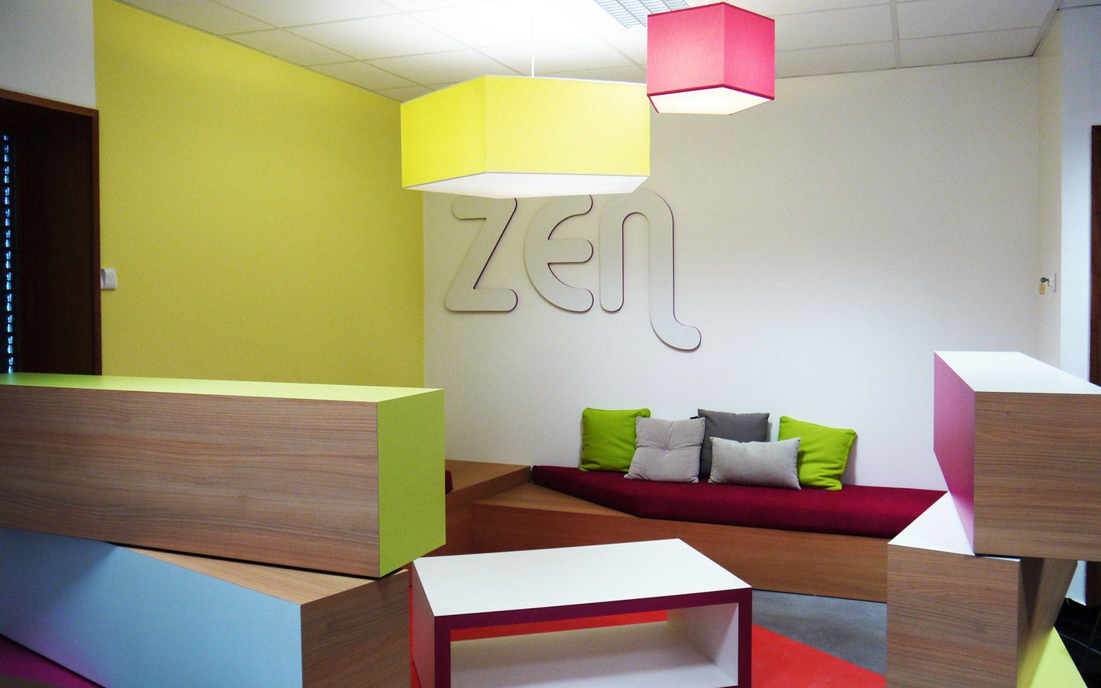 ambiance zen et diy espace bureau accueil et salle d 39 attente pinterest. Black Bedroom Furniture Sets. Home Design Ideas