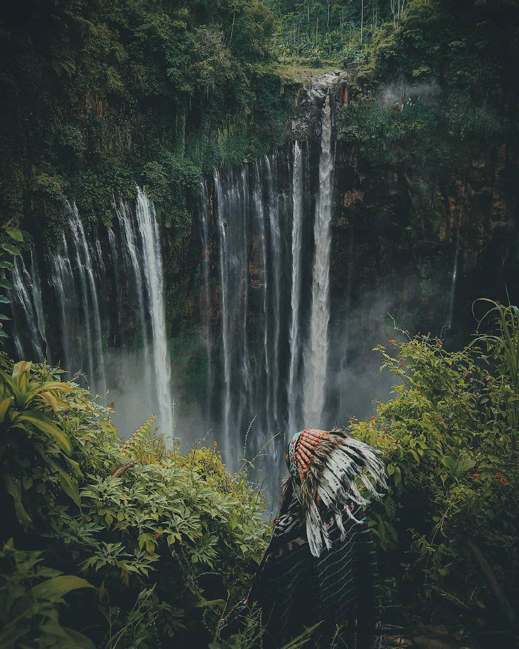 Enjoy The Beauty Of Tumpak Sewu Waterfall In Lumajang
