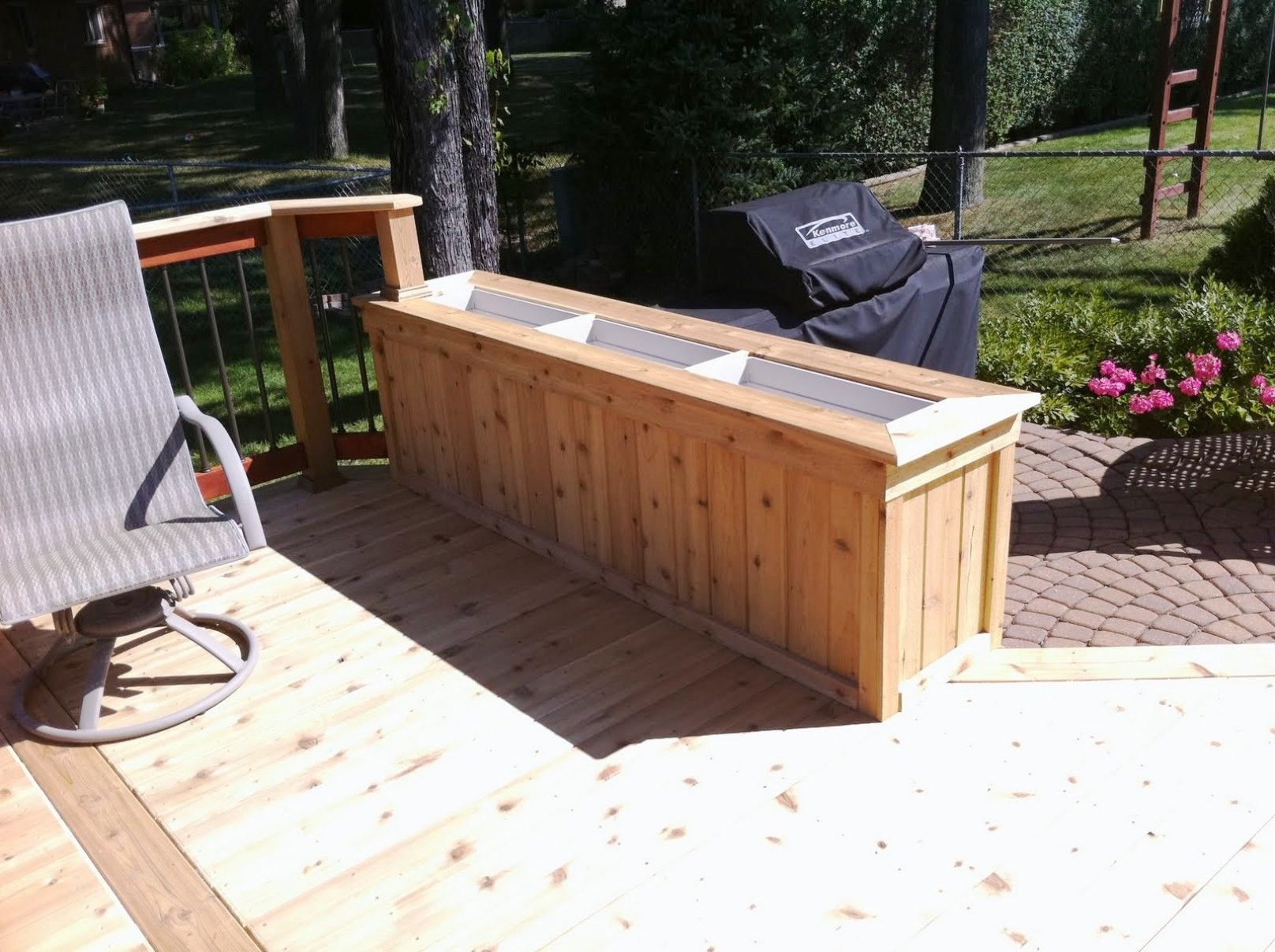 inexpensive easy deck an watch planters planter wood build box
