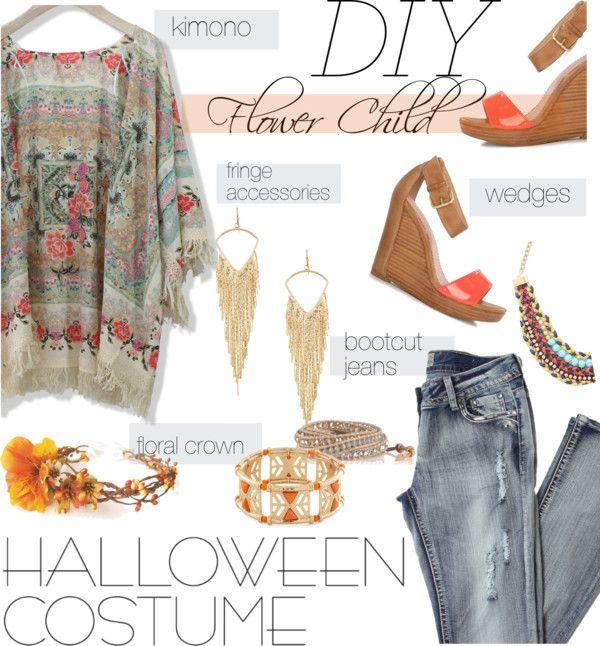 """shop your closet: halloween costume"" by maria-maldonado ❤ liked on Polyvore"