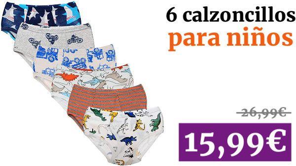 Paquete De 3 Chicos Niños Calzoncillos Shorts Underwear Troncos De Algodón Calzoncillos Pantalones de los niños