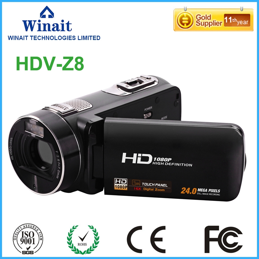 89 99 Buy Here Winait High Quality Digital Video Camera Hdv Z8  # Cache Television Hydraulique