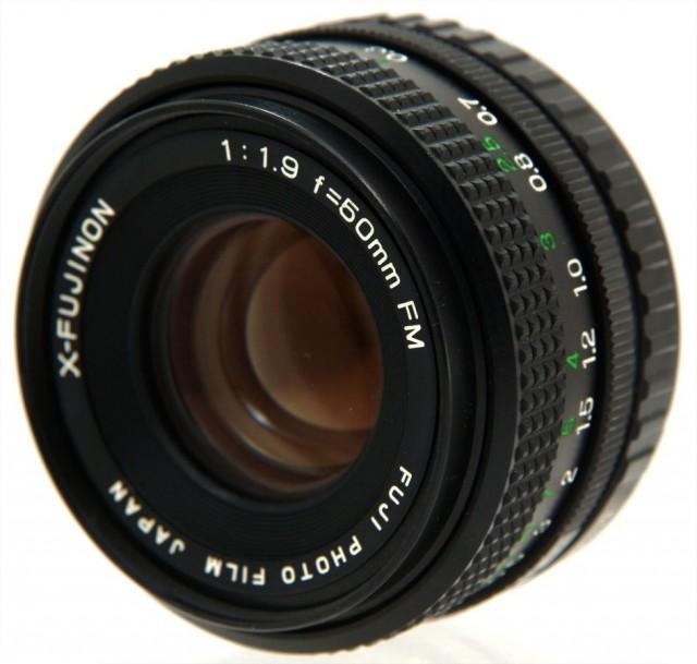 Fuji X-Fujinon FM 50mm f//1.9 Lens
