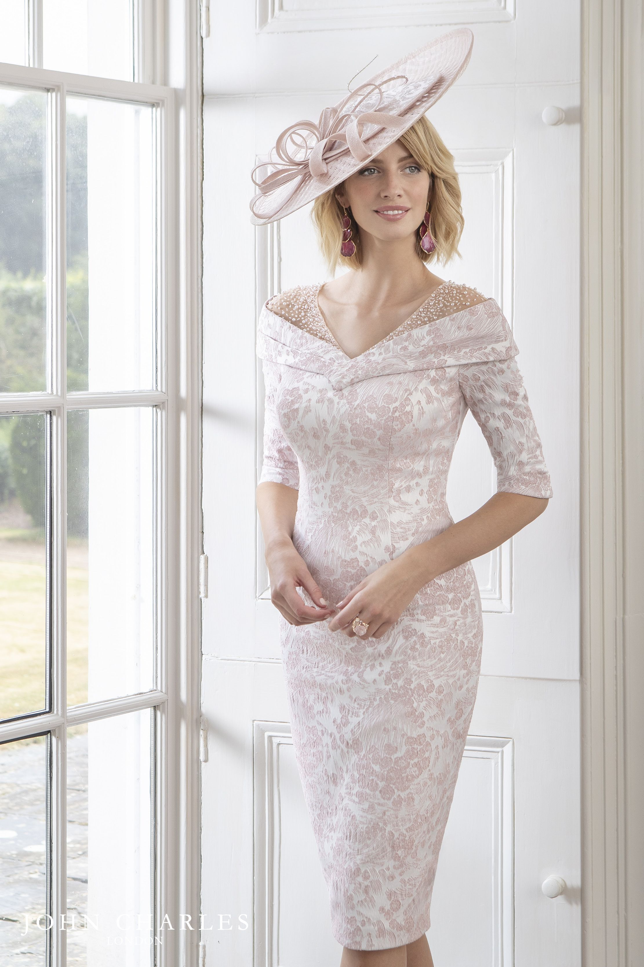 John Charles Spring Summer 2019 Collection Bride Clothes Mother Of The Bride Outfit Bride Dress