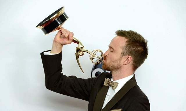 Aaron Paul consigue su segundo Emmy 2013 como actor de reparto en drama por `Breaking bad´