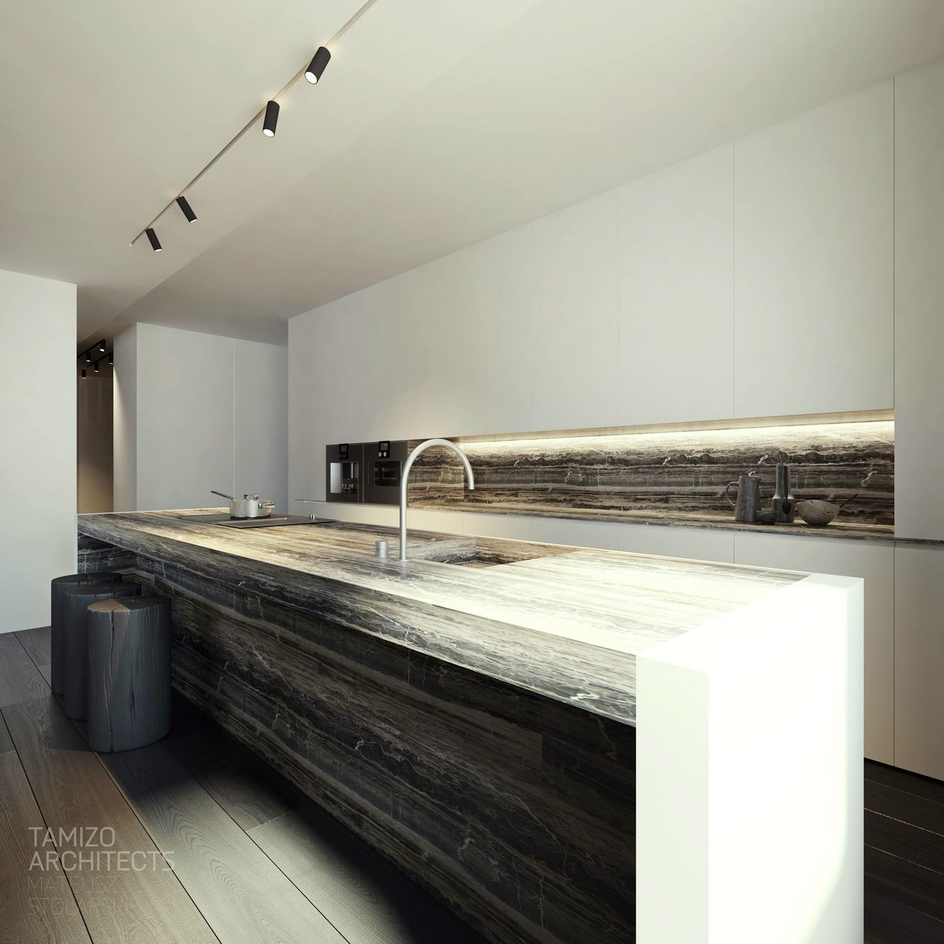 kitchen by tamizo architects