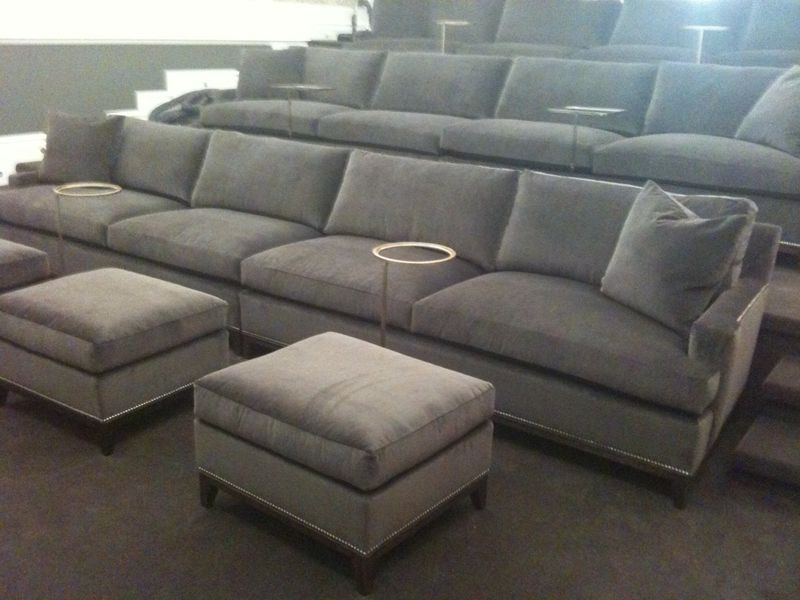 Love These Hickory Chair Extra Long Sofas For A Screening Room So