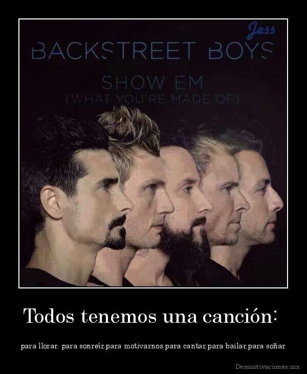 Nueva Portada D Su 2do Sencillo Backstreet Boys La Música Es Vida Canciones