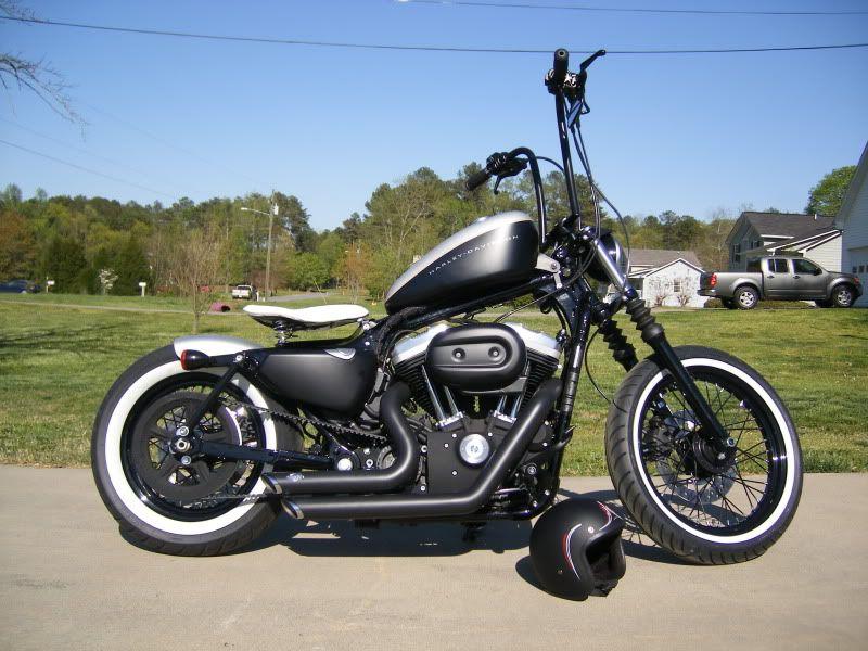 Custom Iron 883 Pics