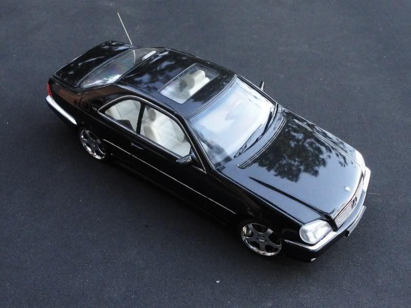 Tamiya AMG Mercedes S600 V12 Coupe 1/24 Mercedes benz