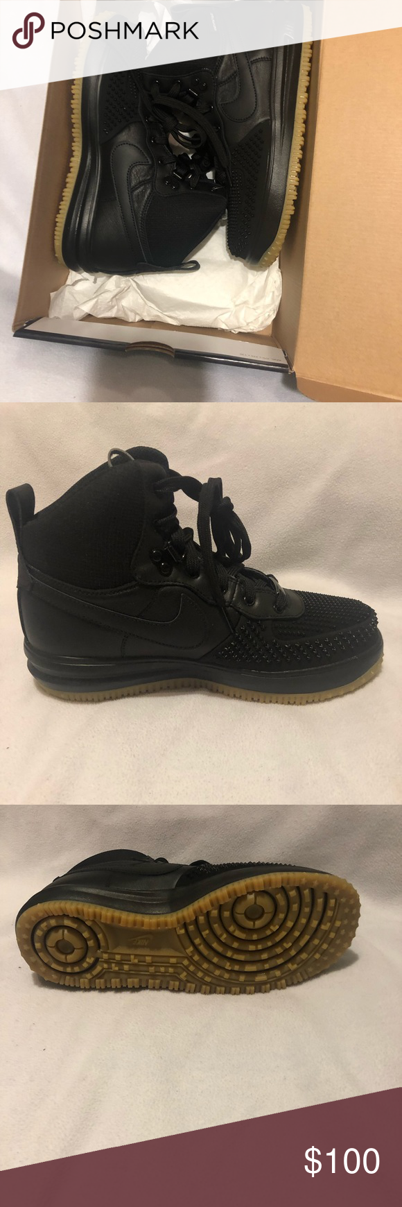 online store 6912b 673dd Nike Air Force 1 s This is a pair of brand new Nike Lunar Force 1 DuckBoot