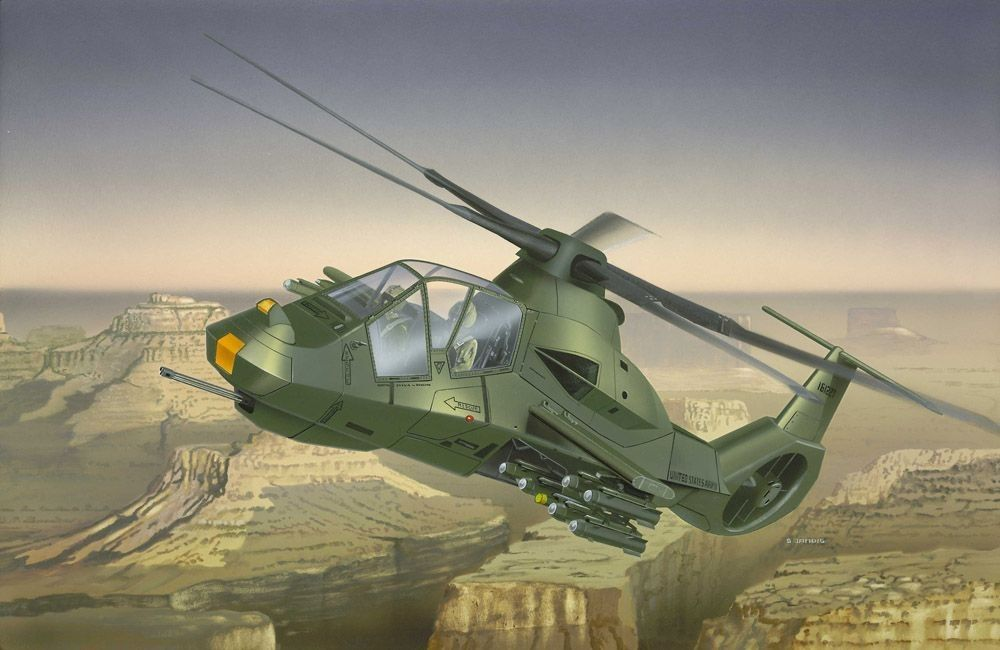 RAH-66 Comanche Attack Helicopter