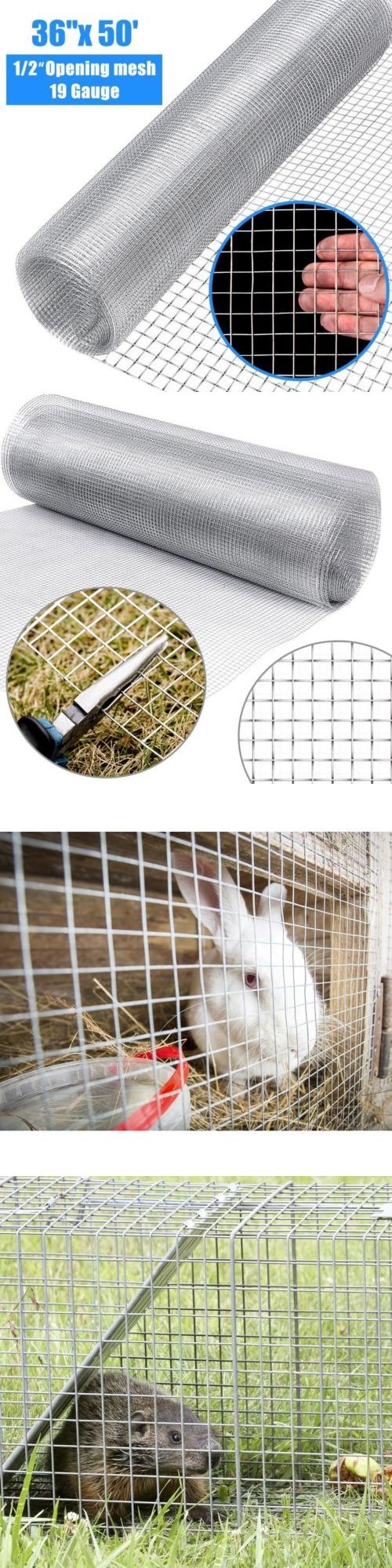 36 X 50 1 2inch Home Wire Fence Mesh Cage Roll 19 Gauge Wiring Galvanized Us Hardware Cloth Metal 180985 Pinterest
