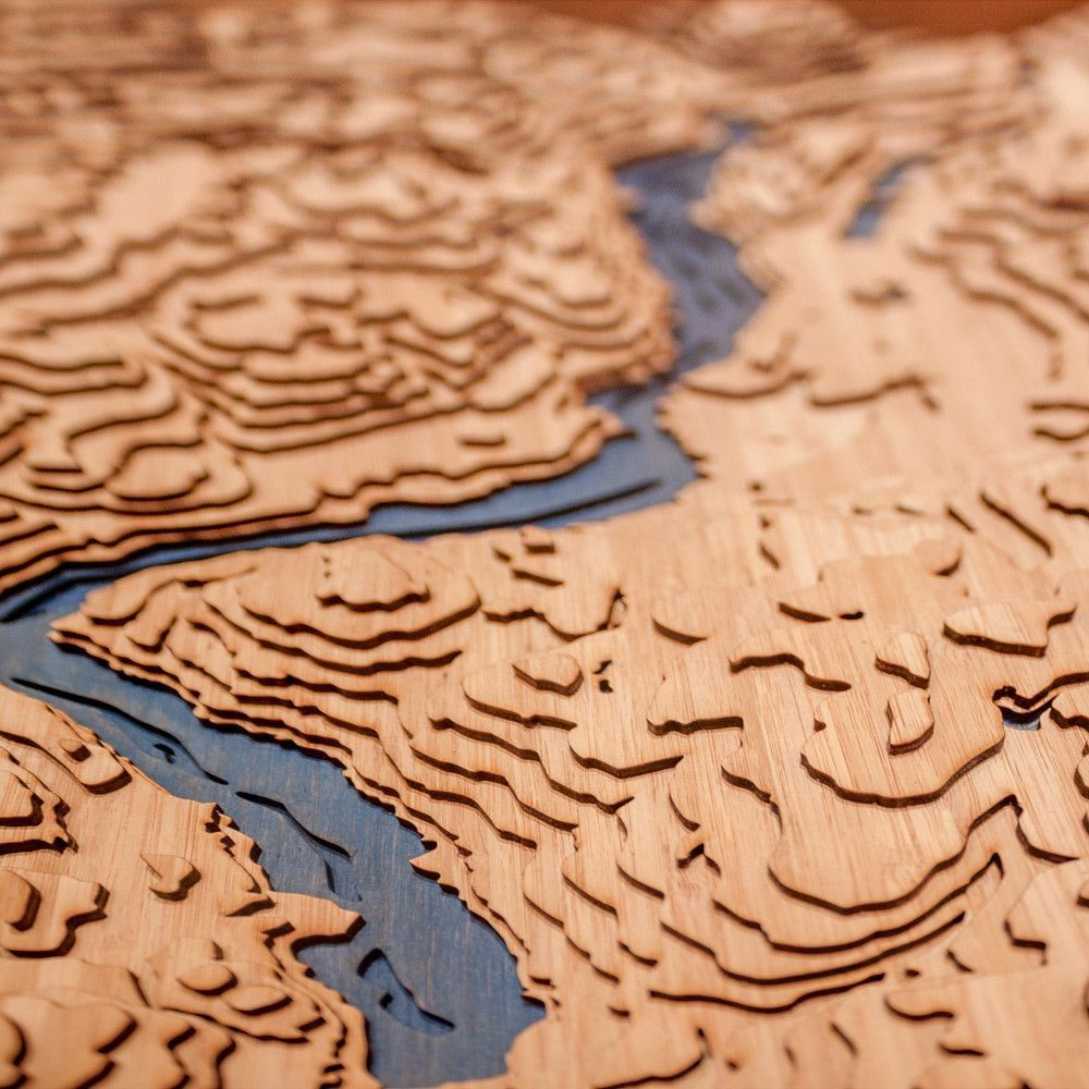 Okanagan Lake British Columbia Topographic map and Products