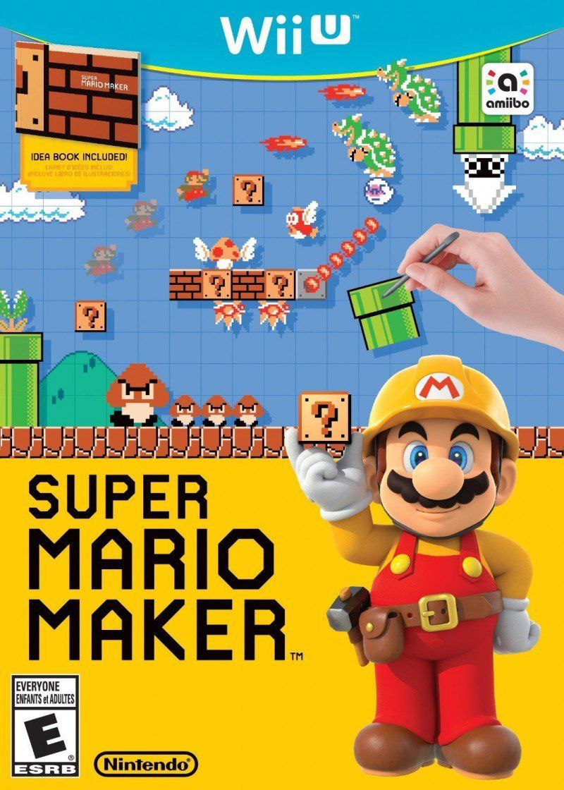 Super Mario Maker Wii U Physical Game Disc US Game Cheap