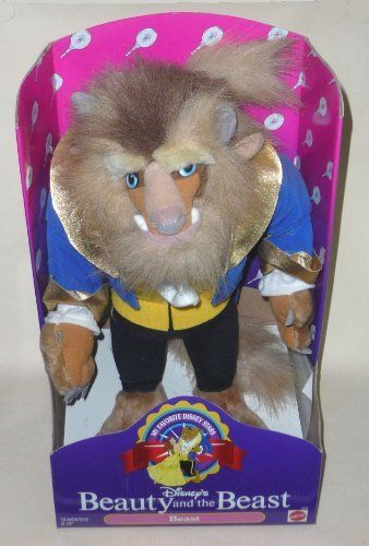 "Disney's Beauty and the Beast Plush Doll ""Beast"", http://www.amazon.com/dp/B00DOLRUG4/ref=cm_sw_r_pi_awdm_UpxYtb1JC8XRZ"