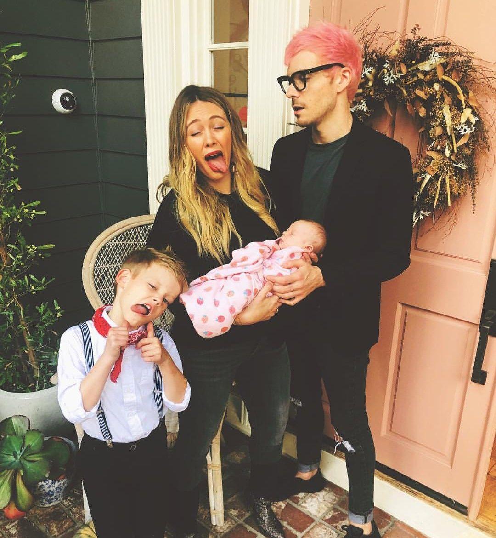 Matt Koma Hilary Duff With Their Children S Luca Banks Hilary Duff Hillary Duff The Duff