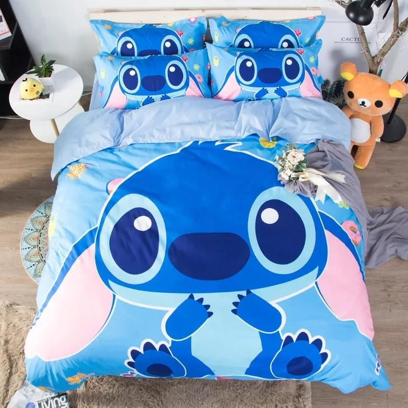 Kawaii Stitch Bedding Set In 2020 Lilo Stitch Cute Stitch