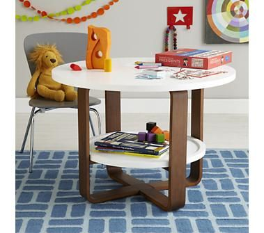 Kids Play Tables: Modern Round Play Table In Play Tables