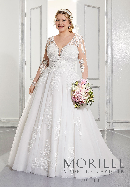 Ama Wedding Dress Morilee Plus Size Wedding Gowns Plus Wedding Dresses Wedding Dress Inspiration [ 2630 x 1834 Pixel ]